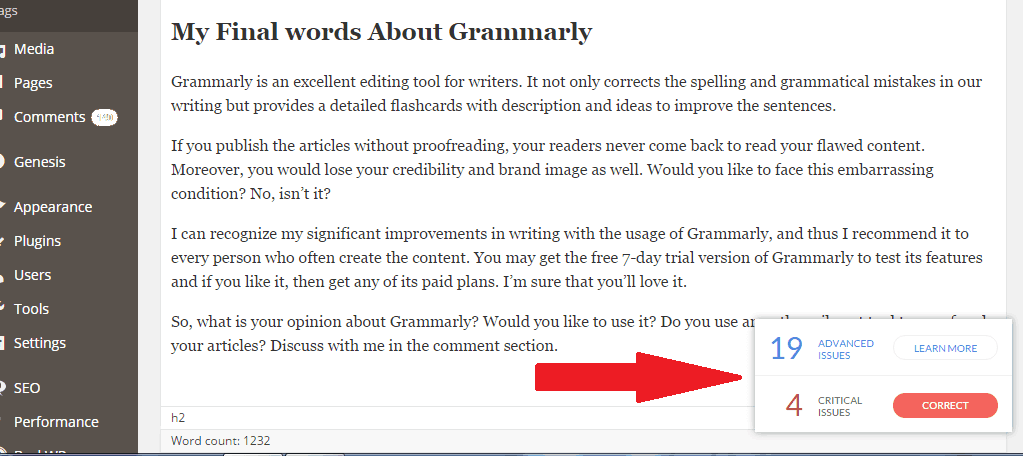 grammarly-wordpress