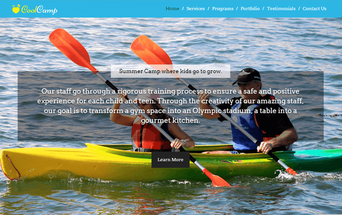 coolcamp-wordpress-theme