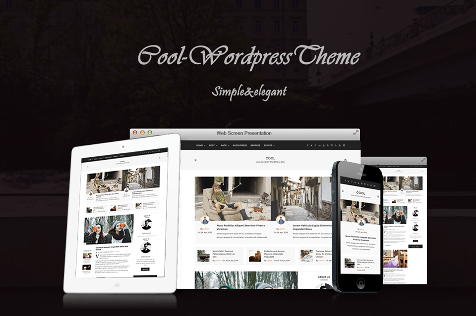 Cool Theme ThemeForest