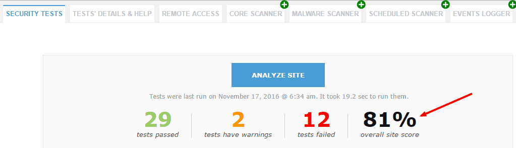 security-ninja-plugin-tests