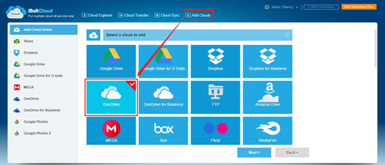 add-cloud-drives-multcloud